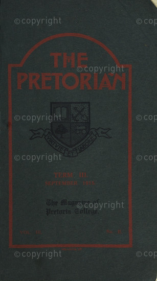 The Pretorian September 1915