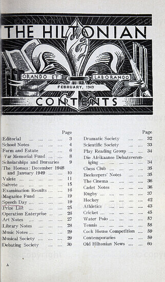 The Hiltonian, February 1949