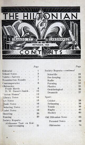 The Hiltonian, October 1950