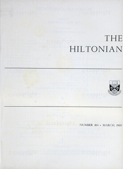 The Hiltonian, March 1969, No. 104