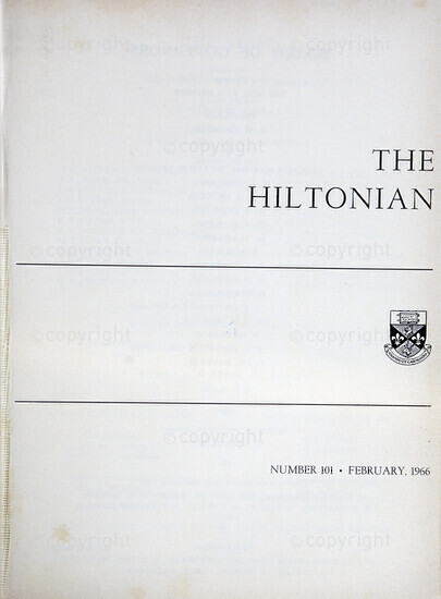 The Hiltonian, February 1966, No. 101