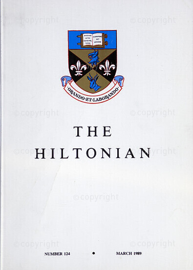 The Hiltonian, March 1989, No. 124