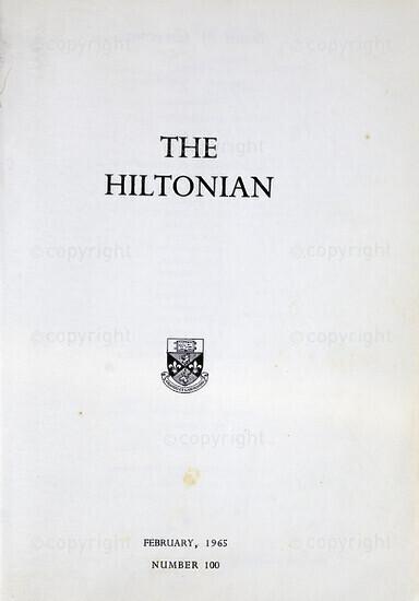 The Hiltonian, February 1965, No. 100