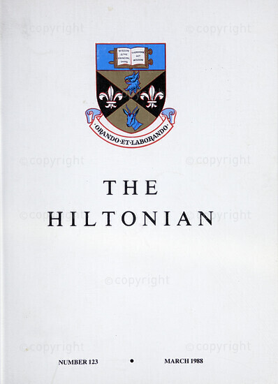 The Hiltonian, March 1988, No. 123
