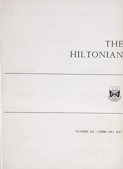 The Hiltonian, February 1967, No. 102