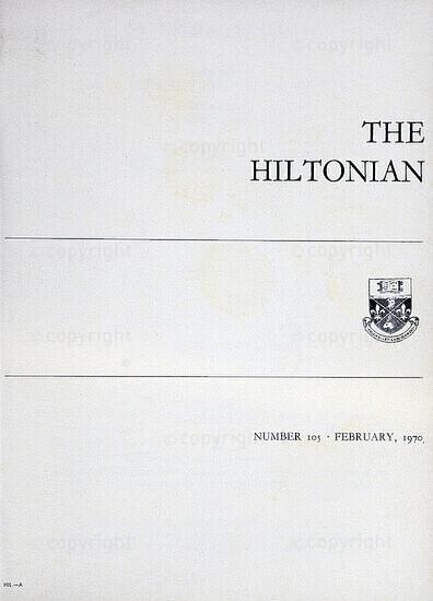 The Hiltonian, February 1970, No. 105