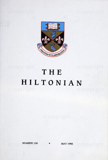 The Hiltonian, May 1995, No. 130