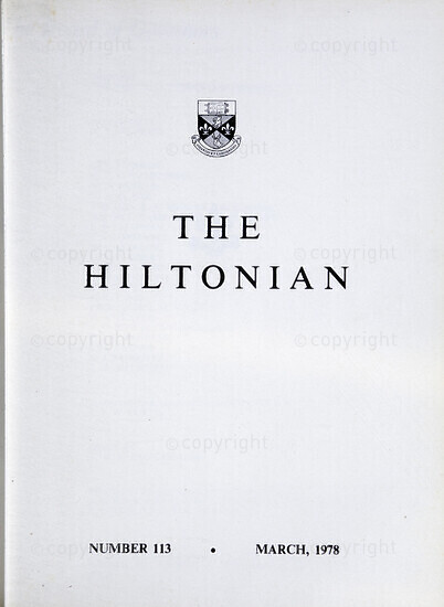 The Hiltonian, March 1978, No.113