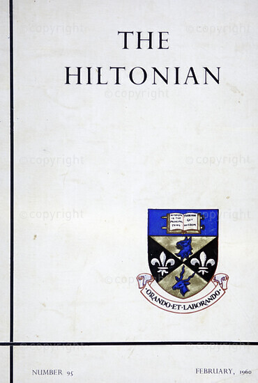 The Hiltonian, February 1960, No. 95