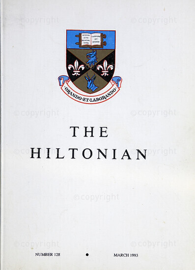 The Hiltonian, March 1993, No. 128