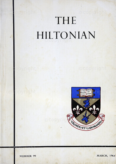 The Hiltonian, March 1964, No. 99