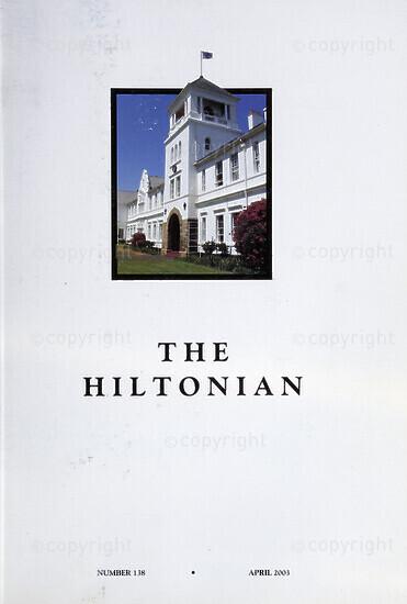 The Hiltonian, April 2003, No. 138
