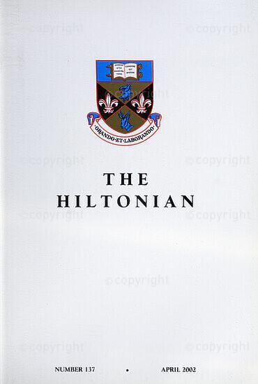 The Hiltonian, April 2002, No. 137