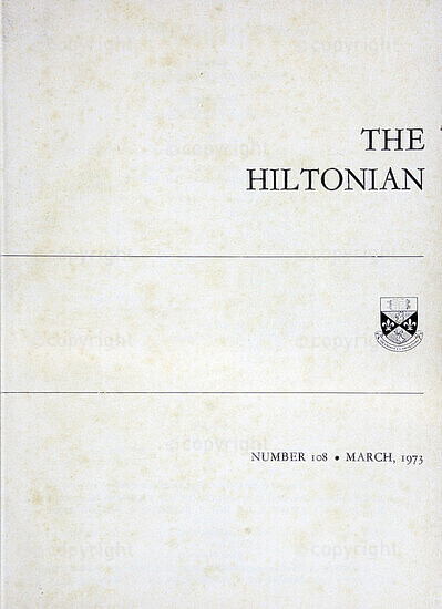 The Hiltonian, March 1973, No. 108