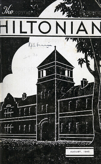 The Hiltonian, August 1945, No. 70