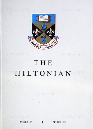 The Hiltonian, March 1992, No. 127
