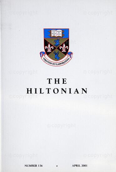 The Hiltonian, April 2001, No. 136