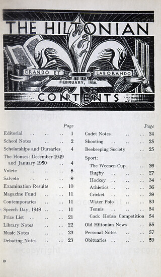 The Hiltonian, February 1950