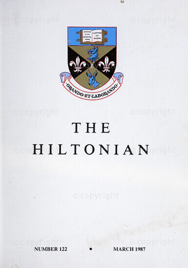 The Hiltonian, March 1987, No. 122