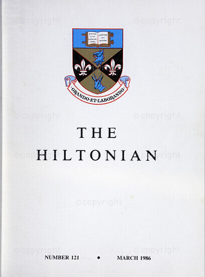 The Hiltonian, March 1986, No. 121