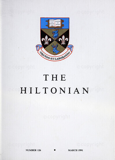 The Hiltonian, March 1991, No. 126