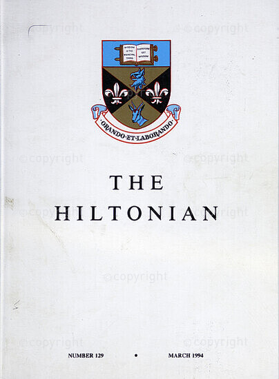 The Hiltonian, March 1994, No. 129