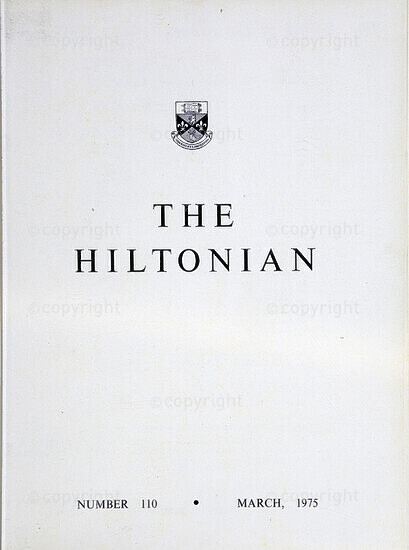 The Hiltonian, March 1975, No. 110