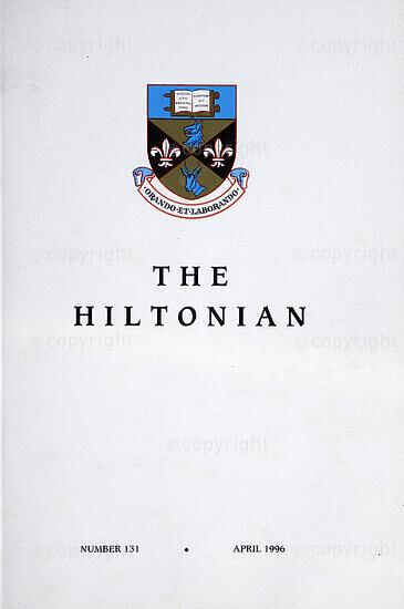 The Hiltonian, April 1996, No. 131