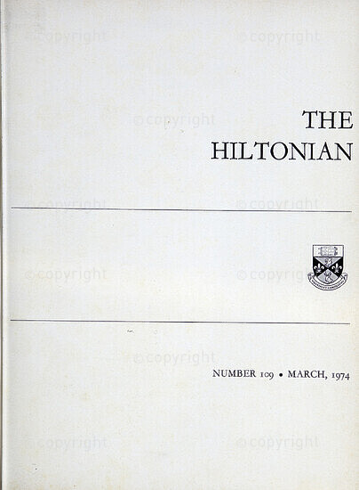 The Hiltonian,  March 1974, No. 109