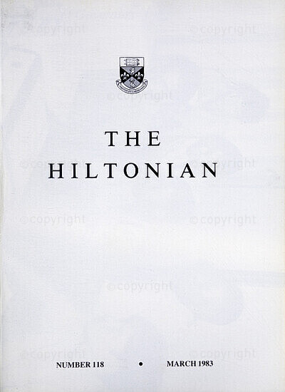 The Hiltonian, March 1983, No. 118
