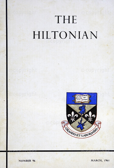 The Hiltonian, March 1961, No. 96
