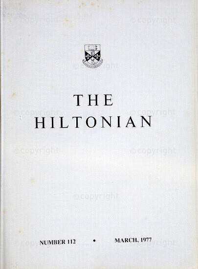 The Hiltonian, March 1977, No. 112