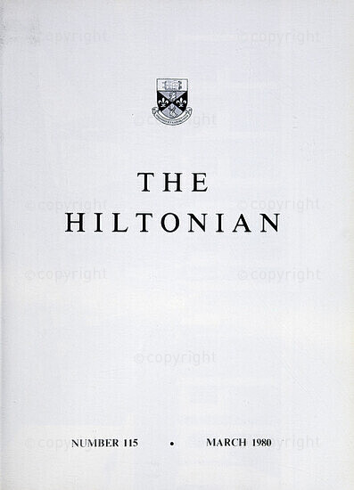 The Hiltonian, March 1980, No. 115