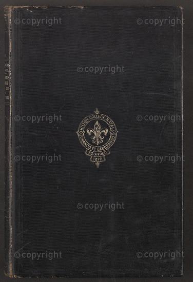 Hilton College Minute Book, 1892 to 1928.