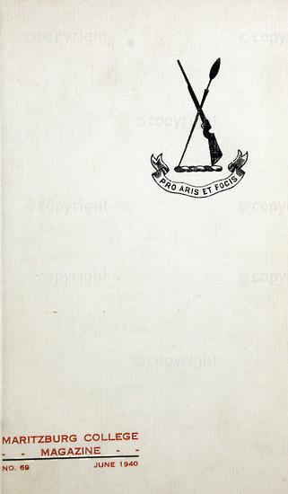 Maritzburg College Magazine June 1940