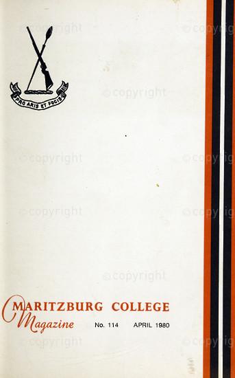 Maritzburg College Magazine April 1980