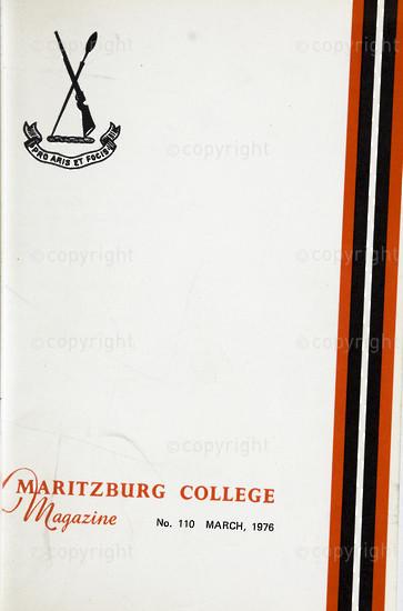 Maritzburg College Magazine March 1976