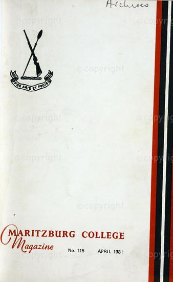 Maritzburg College Magazine April 1981