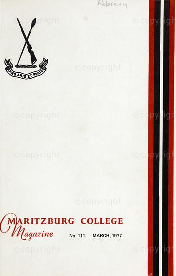 Maritzburg College Magazine March 1977