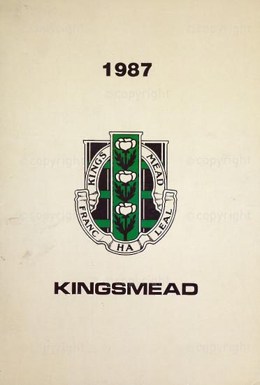 Kingsmead College Magazine 1987