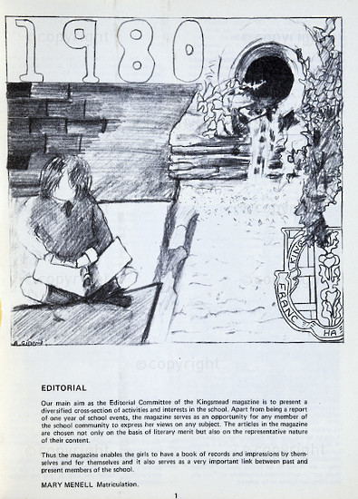Kingsmead College Magazine, 1980