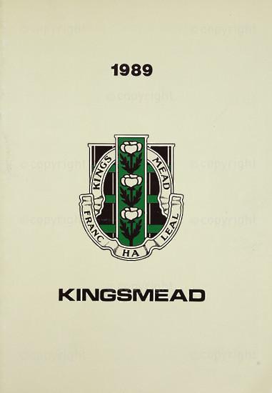 Kingsmead College Magazine 1989