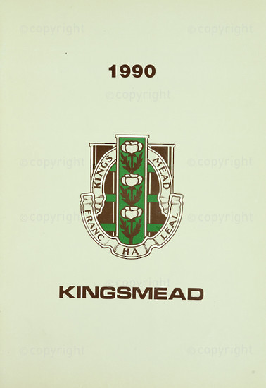 Kingsmead College Magazine 1990