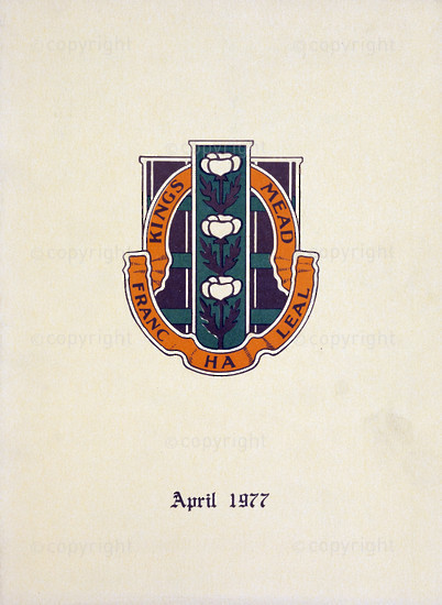 Kingsmead College Magazine, April 1977