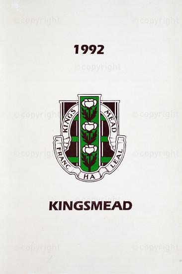 Kingsmead College Magazine 1992