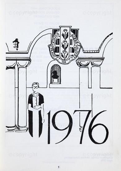Kingsmead College Magazine, April 1976