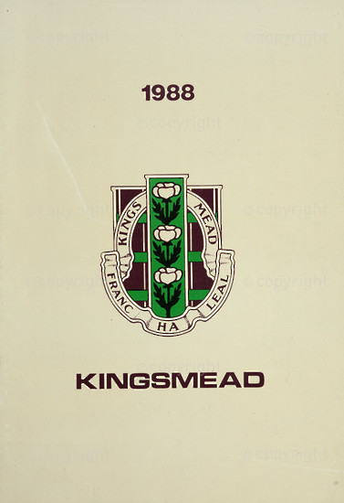 Kingsmead College Magazine 1988