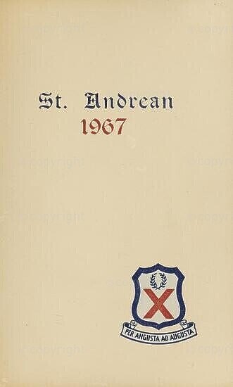 St Andrean, 1967