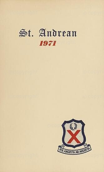 St Andrean, 1971