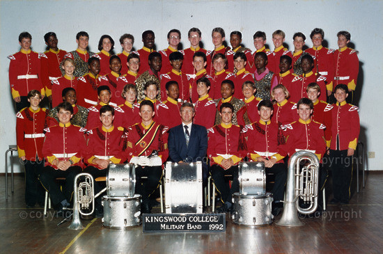 KINGSWOOD COLLEGE MARCHING BAND 1992